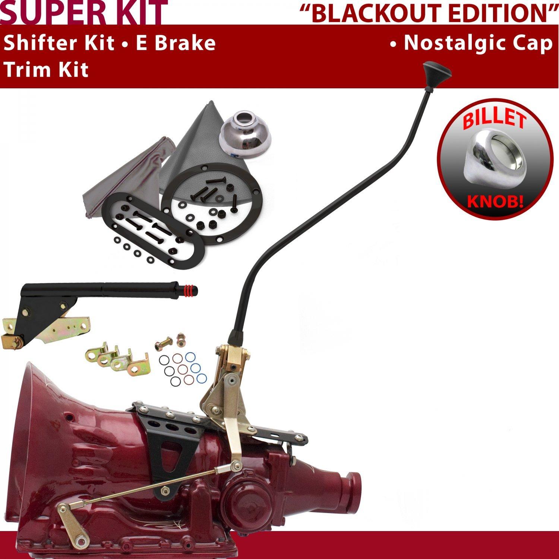 American Shifter 529205 Shifter 45RFE 23 Swan E Brake Trim Kit for F55A5