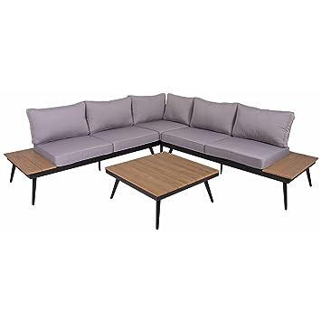 Amazon.de: Lounge Set Riba Sitzgruppe Garten Sofa Sitzgarnitur ...
