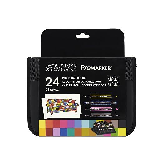 """46 opinioni per Winsor & Newton–Kit """"Promarker, colori assortiti (Confezione da 24)"""
