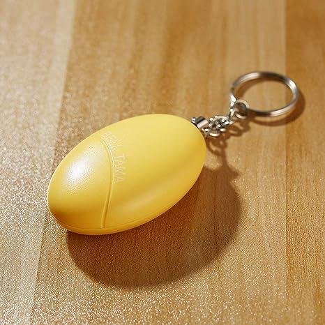 Llavero Inteligente Huevos Forma Grito Fuerte Anti-Ataque ...