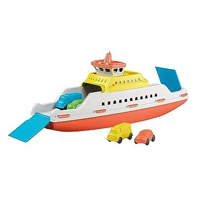Adriatic Ferry vehículo de Juguete - Vehículos de Juguete (Azul, Naranja, Blanco, Amarillo, Barco, Interior / Exterior, 39 cm): Juguetes y juegos
