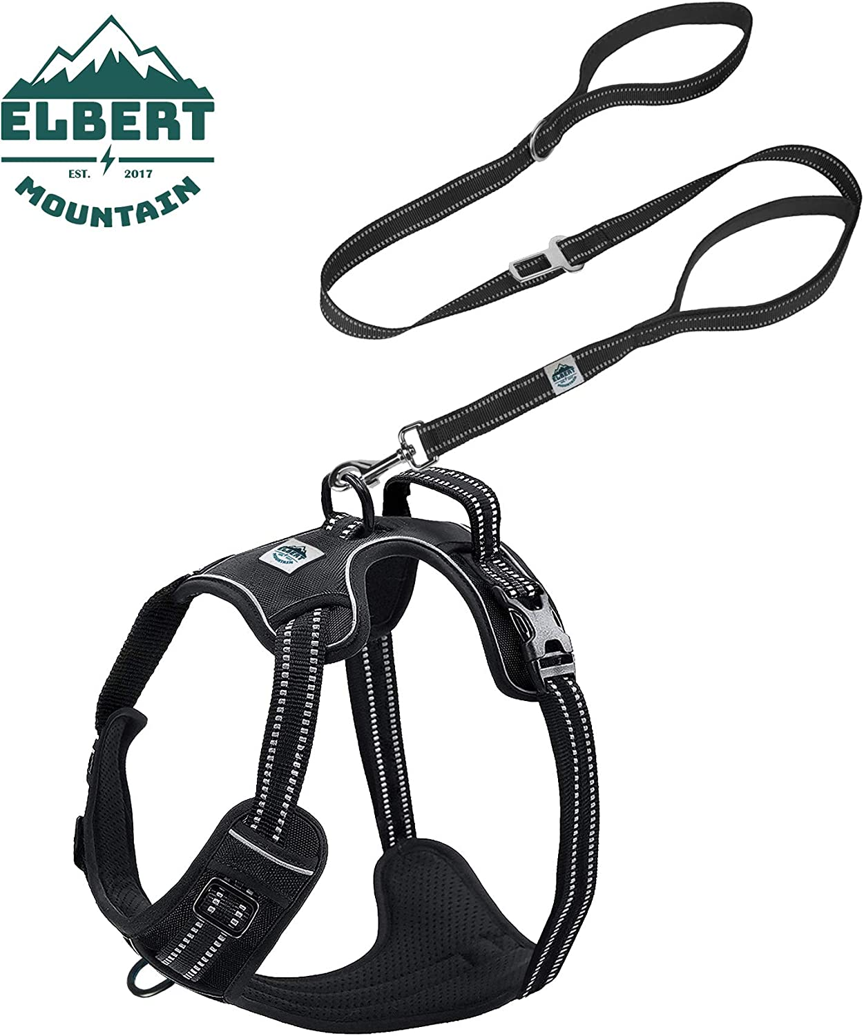 ELBERT MOUNTAIN NO PULL NO CHOKE DOG VEST HARNESS