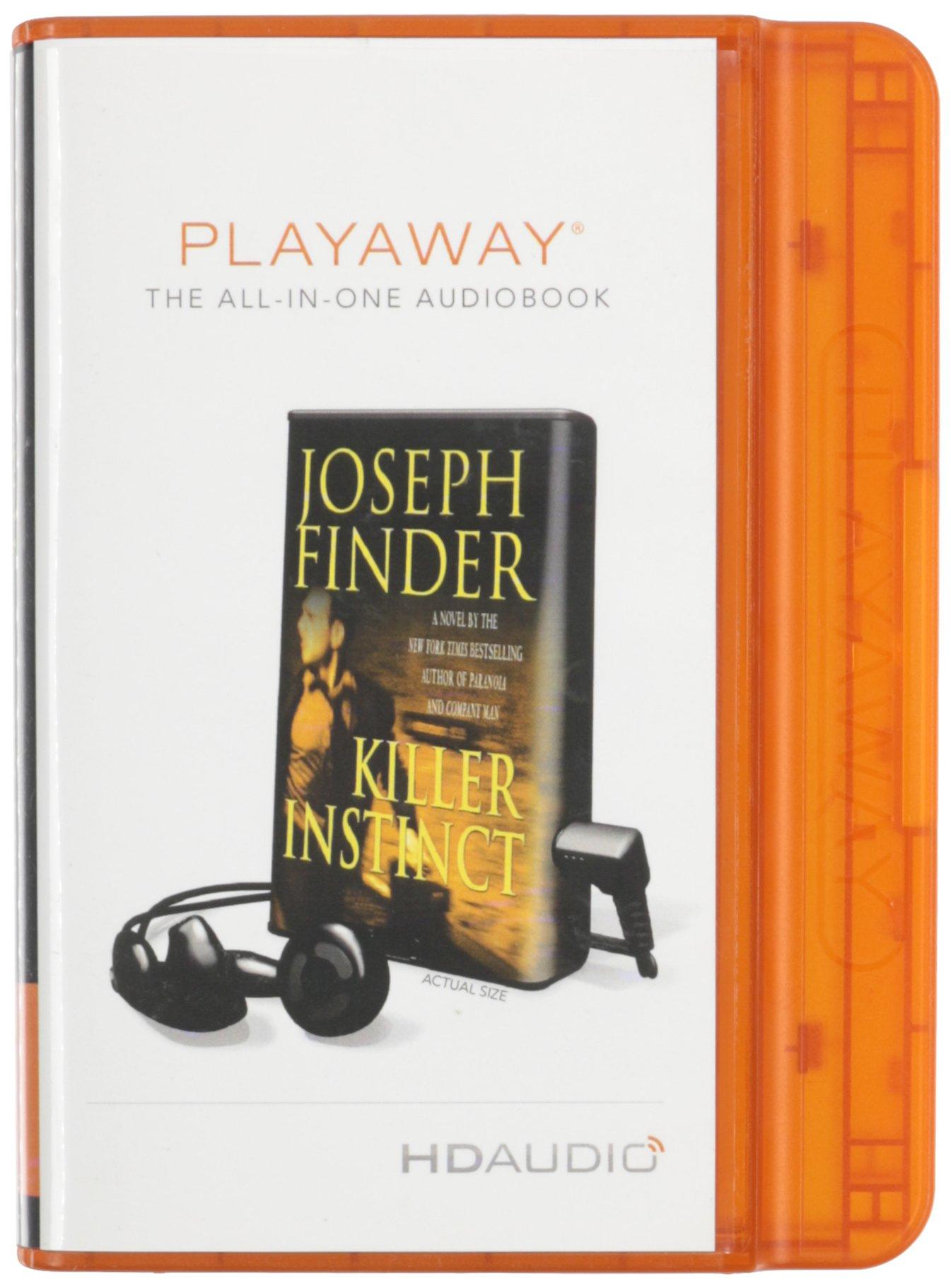 Killer Instinct Joseph Finder product image