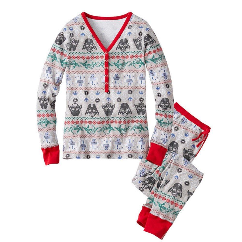 LvRao Famiglia Stampato Pigiama Mamma papà Neonato Bambino Xmas Natale vestiti Sleepwear