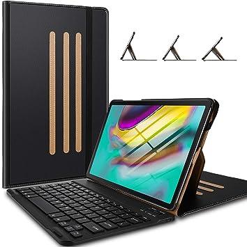 Yocktec Teclado Funda para Samsung Galaxy Tab S5E T720 10.5