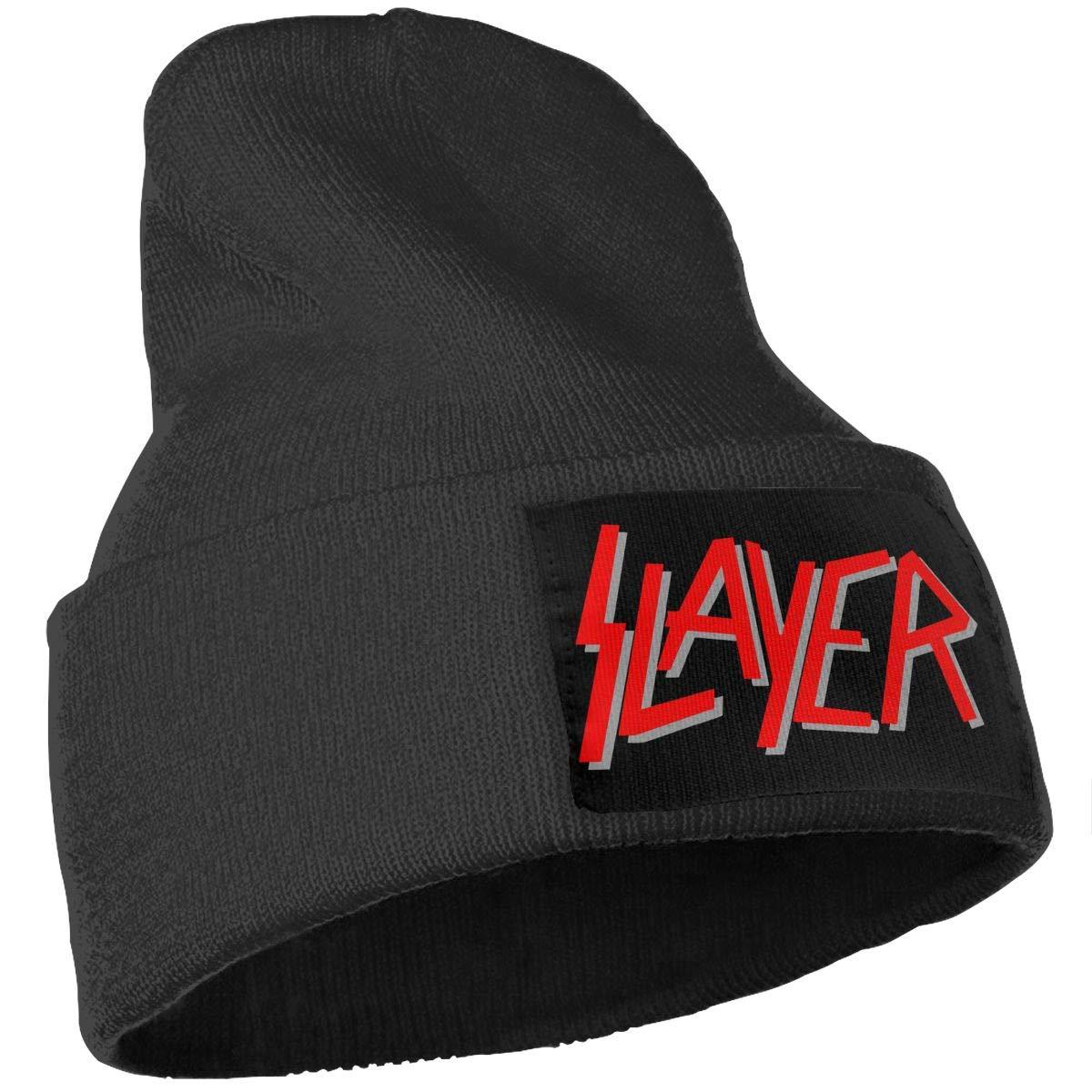 Knit Hat Slayer Rock Band Beanie Winter Hats for Men Women