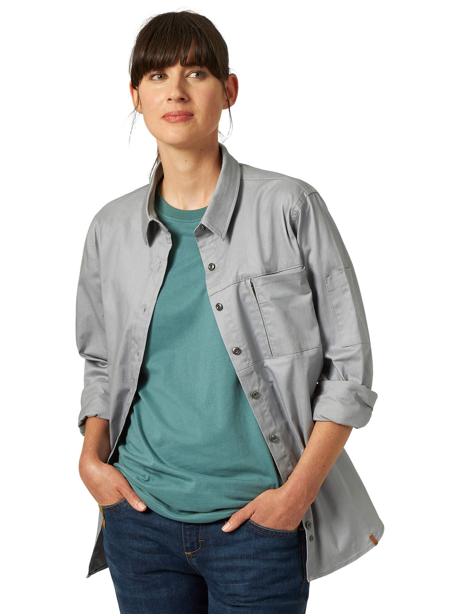 Wrangler Riggs Workwear Women's Long Sleeve One Pocket Workshirt