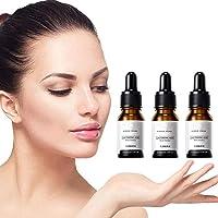 Shrinks Pores Essence,Nourishes & Moisturize Tightening Serum Facial Essence - Exfoliating, Minimize Pores, Anti-Aging 3Pcs)