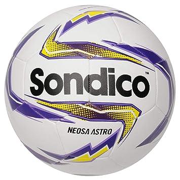 Pelota de fútbol Oficial de Sondico Neosa Astro, Color Blanco ...