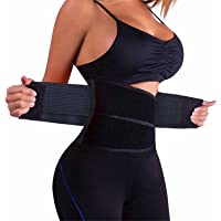 Waist Trainer Women - Waist Cincher Trimmer - Slimming Body Shaper Belt - Sport Girdle Belt