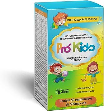 Suplemento Vitaminico Prokids 60 Comprimidos 500Mg, Promel