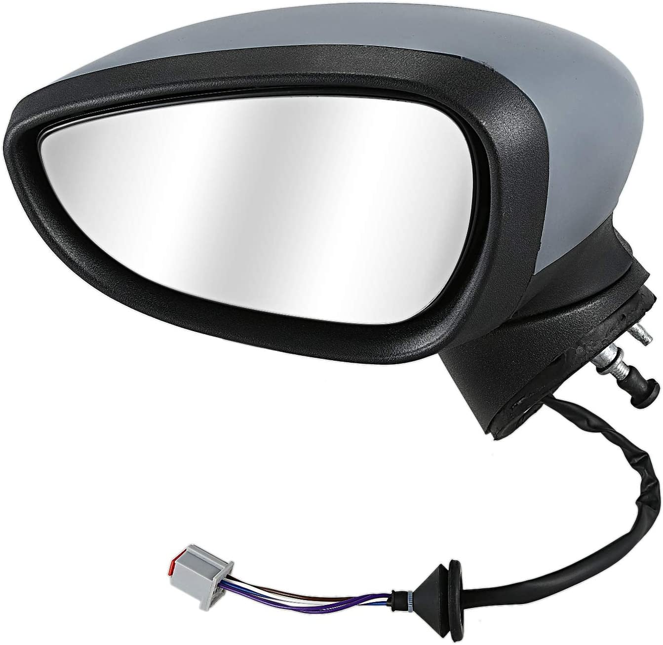 Chrome Rearview Covers for Megane III Laguna III Scenic Fluence Stainless Steel 2 Set of Exterior Mirror Caps