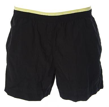 68f21679ba JUST CAVALLI Men's Above-Knee Swim Trunks W/ Netting Sz Extra Small Black