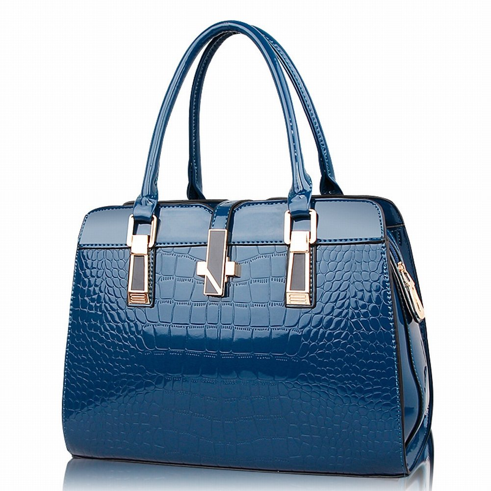 Handtasche Der Modischen Frau Der Handtasche Allgleiches Schulter Kuriertasche , Geheimnisvolles Blau
