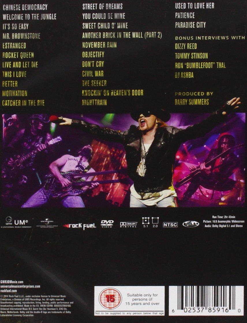 Appetite For Democracy [Alemania] [DVD]: Amazon.es: Guns N ...
