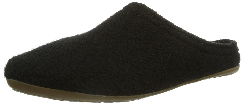 Haflinger Classic, Unisex-Erwachsene Pantoffeln, Schwarz (Schwarz 03), 36 EU