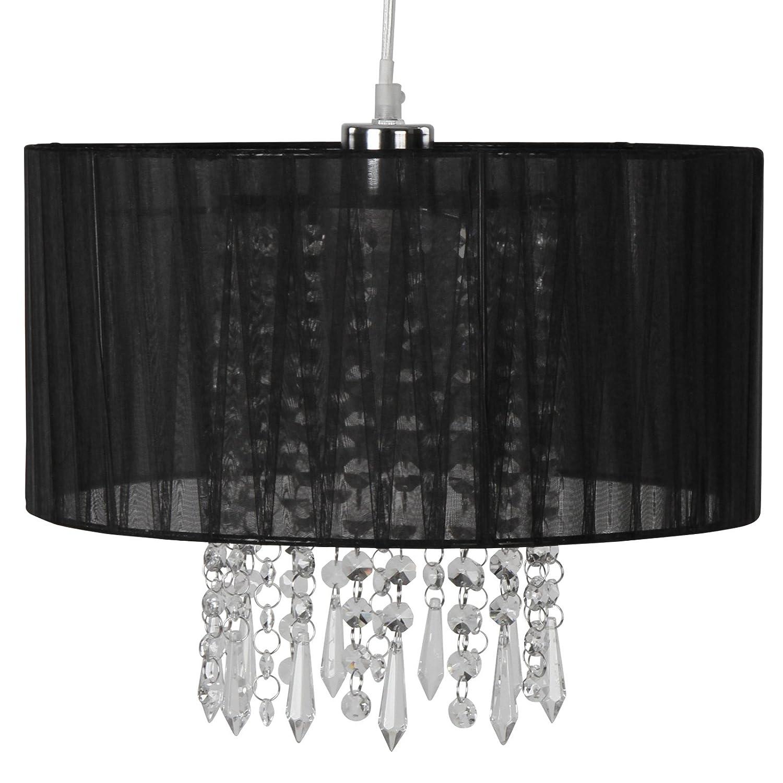 Jago Paralume cristallo moderno lampadario con cristalli: Amazon ...