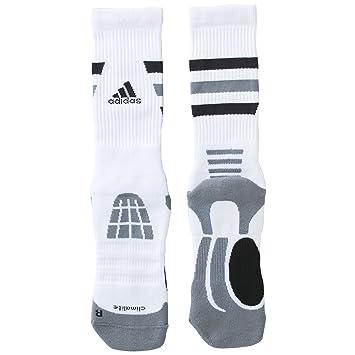 adidas Rendimiento Hombre 1 Par Pro baloncesto calcetines, blanco
