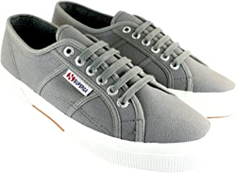 Mens Superga 2750 Cotu Classic Plimsoll Lace Up Canvas Casual Sneakers