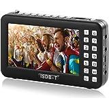 携帯テレビ ポータブルテレビ ラジオ FM ワンセグポケット アンテナ内蔵 4.3インチ USB給電対応 (ブラック)