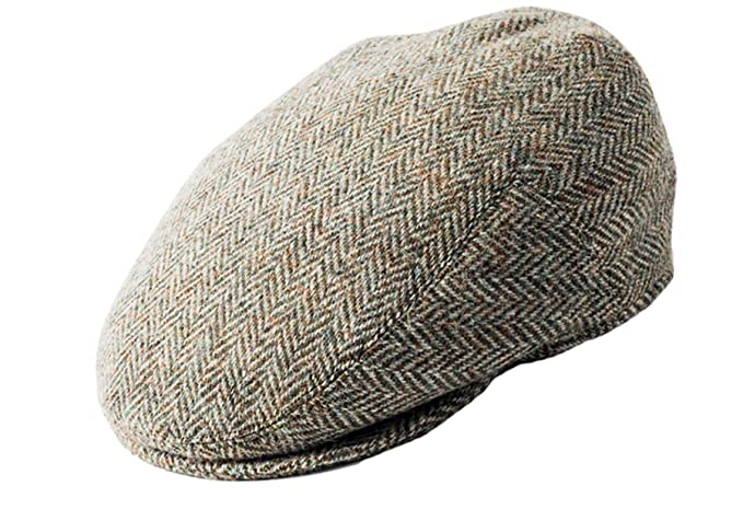 Failsworth Harris Tweed Flat Cap at Amazon Men s Clothing store  6a0fd60b97ce