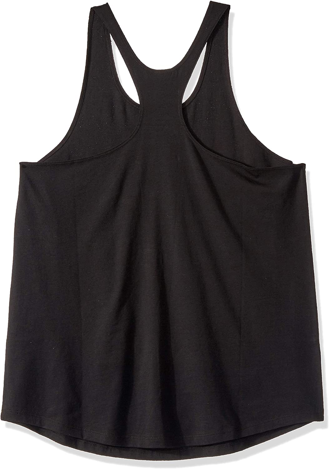 Zumba Womens Graphic Design Black Loose Breathable Workout Tank Top Shirt