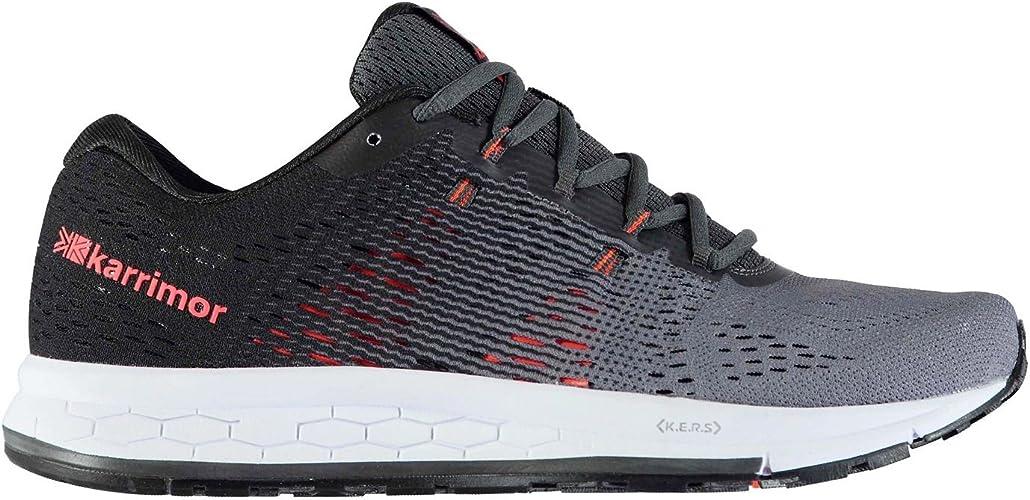 Karrimor Hombre Rapid Zapatillas Deportivas De Running Carbón/Naranja EU 45 (UK 11): Amazon.es: Zapatos y complementos