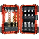 beyond by BLACK+DECKER Drill Bit Set/Screwdriver Bit Set, 46-Peice (BDA46SDDDAEV)
