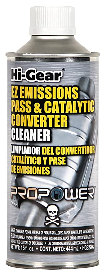 Hi-Gear HG3270s EZ Emissions Pass and Catalytic Converter Cleaner - 15 fl   oz