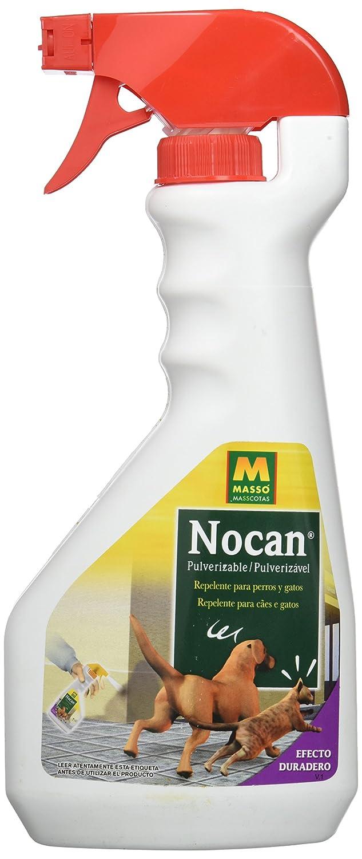 Massó 230611, Pulverizador repelente para perros y gatos Nocan, 500 ml: Amazon.es: Jardín