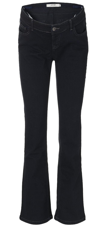 Mama Jeanius maternity jeans: Under the bump, Dark denim, Boot, UK sizes 8-16, petite/regular/ long leg Boot Cut UK sizes 8 - 16