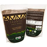 AMMA Organic Cacao Powder, 100% Cacao. No Sugar, No Sweeteners. A Vegan Superfood Rich in Antioxidants and Healthy Fats. Keto Friendly, Gluten & Dairy Free. Delicious Hot Chocolate -Kosher -Halal 250g