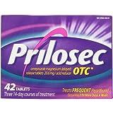 PRILOSEC TABLETS 20 MG OTC 42 by Prilosec