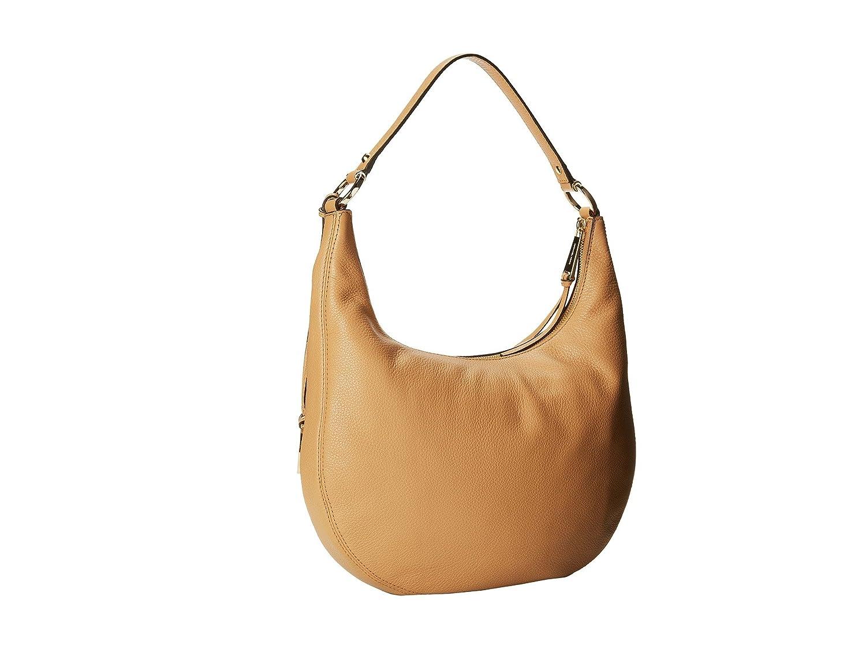 5a66163e5d74 Michael Kors Rhea Zip Medium Shoulder Bag in Suntan  Handbags  Amazon.com