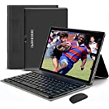 Tablet 10.1 Inch Android 9.0 Quad-Coree Tablet+Keyboard with 4+64GBStorage,1920 x1200 IPS HD Display,5MP and 8MP Cameras…