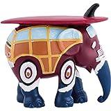 Diese Staute ist eine California-Surfer-Elefanten-Nachbildung von Elefant Parade, in einer limitierten Ausgabe (10cm).
