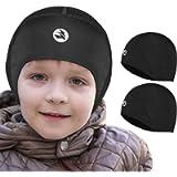 EMPIRELION Kids Thermal Helmet Liner Lightweight Teens Thin Skull caps Cover Ears Beanie Child Running Hats for Boy…
