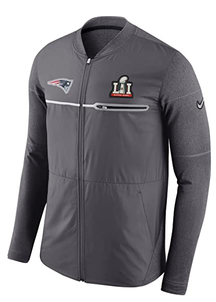 New England Patriots Super Bowl 51 LI Men s Full-Zip Hybrid Jacket (Large) f12949236