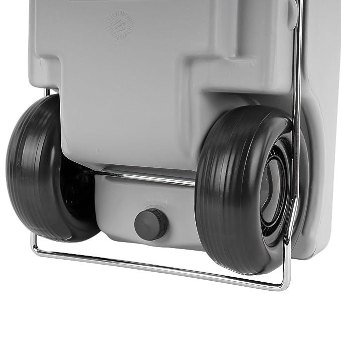 Fiamma Abwasser Rolltank 23 Liter 33x50//100x25 cm f/ür Wohnwagen Grau ausziehbarer Griff