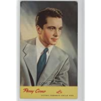 Perry Como COMC REVIEWED Good to VG-EX (Trading Card) 1944 RCA Victor Bandleaders and Recording Stars Advertising Postcards - [Base] #PECO