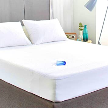WATERPROOF FITTED MATTRESS PROTECTOR COVER SHEET SINGLE DOUBLE /& KING SIZE NEW