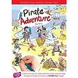Scribble Down - 47113 - Décalcomanie et décor  - Les pirates