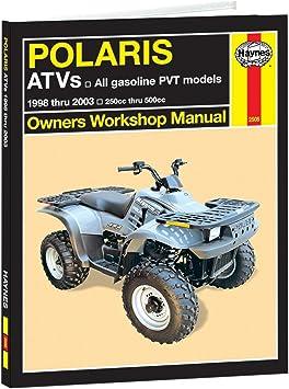 Haynes Polaris Atvs 250 To 500cc Manual 1998 2006 Motorcycle Accessories Parts Amazon Canada