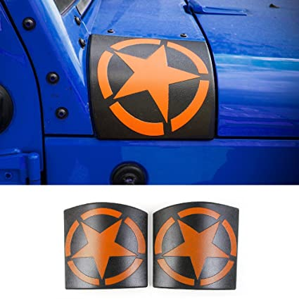 RT TCZ Cowl Body Armor Cover Sport Exterior Accessories Parts For Jeep  Wrangler Rubicon Sahara
