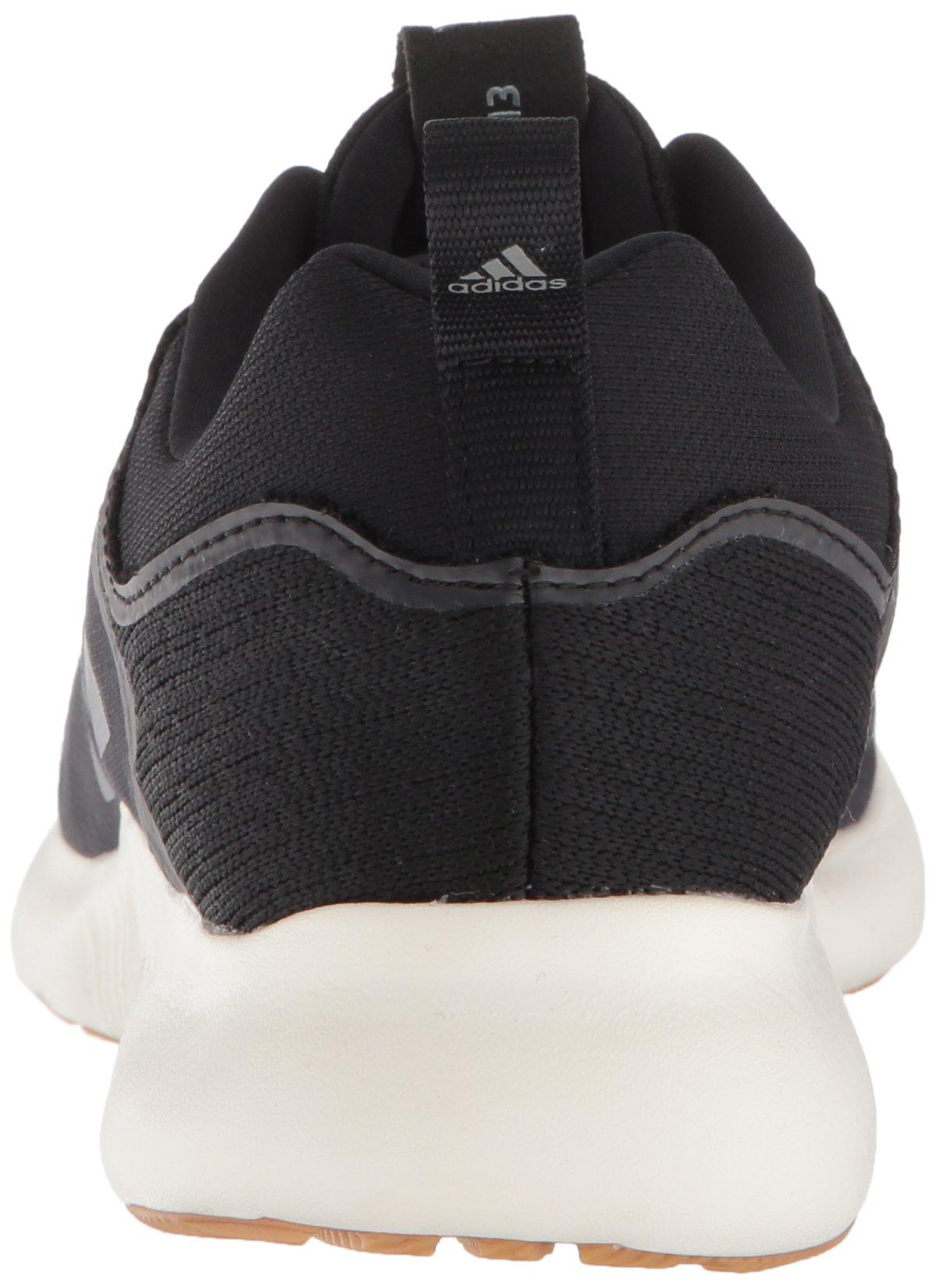adidas Women's Edgebounce Running Shoe Black/Night Metallic, 5.5 M US by adidas (Image #2)