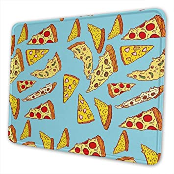 Luancrop Juego Cojín de ratón Pizza Zombis Decoración de ...
