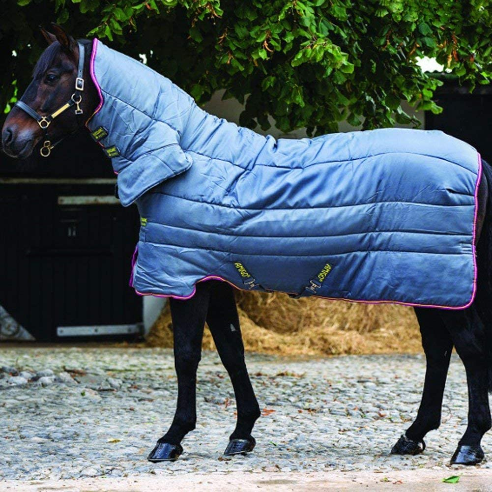 *CLEARANCE*Horseware Amigo All-In-One Insulator 200g Stable Rug 7/'0 Silver//Pur
