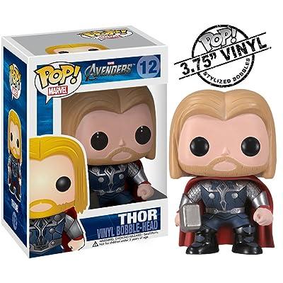 Funko Pop Marvel (Bobble): Avengers - Thor: Toys & Games