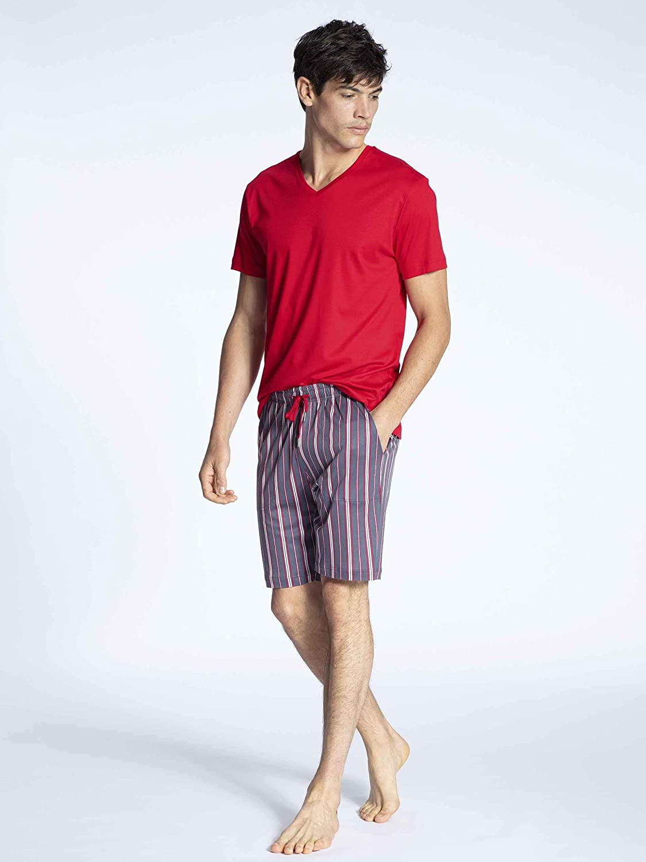 Calida Casual Superlight Kurz-Pyjama Herren