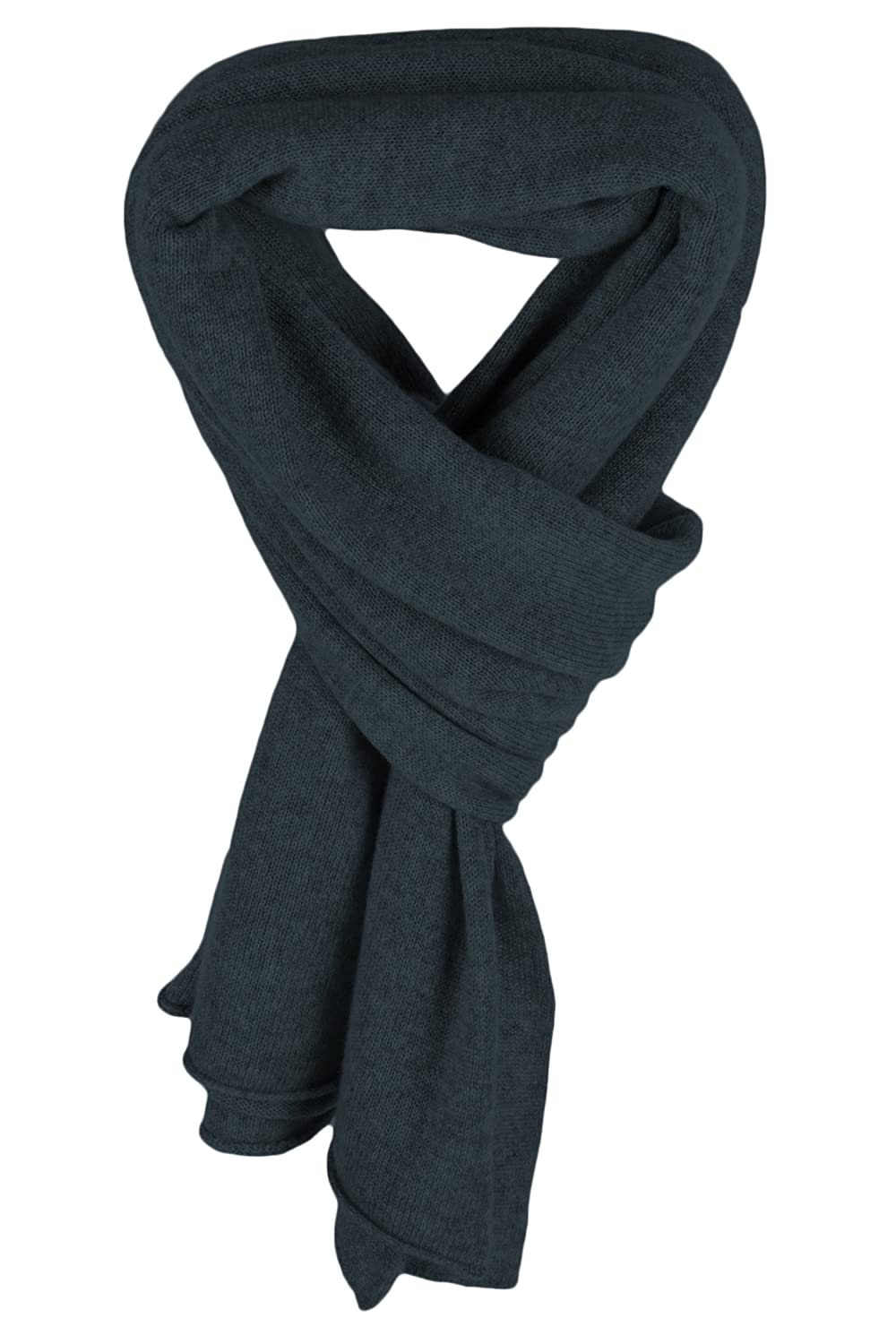 b5d852cdc Ladies Cashmere Mix Wrap Scarf - Gun Blue - made in Scotland by Love  Cashmere RRP $290 at Amazon Women's Clothing store: